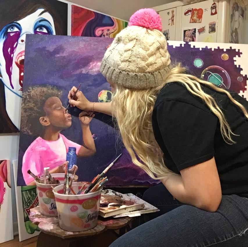 Krissy Whiski artist