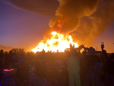 Annual Ritual Art Burning