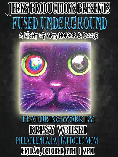 Fused Underground Philly Tattooed Mom's Krissy Whiski