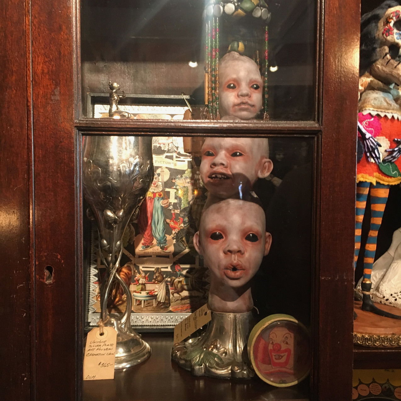 Curiosity Cabinet at Creeper Gallery