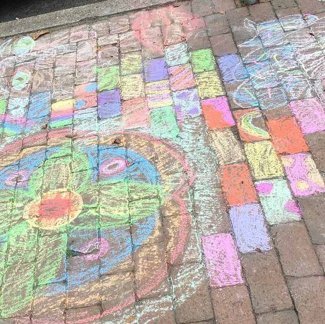 Rainbow road in New Hope at Prop