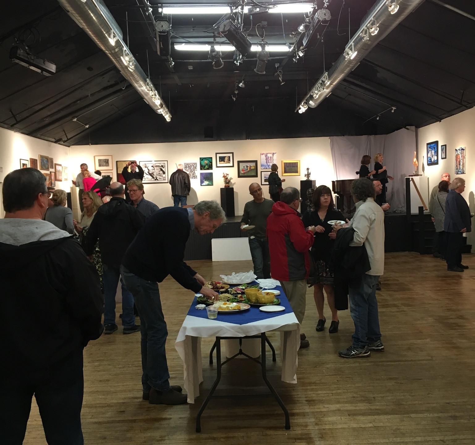 New Hope Arts Salon Show Opening