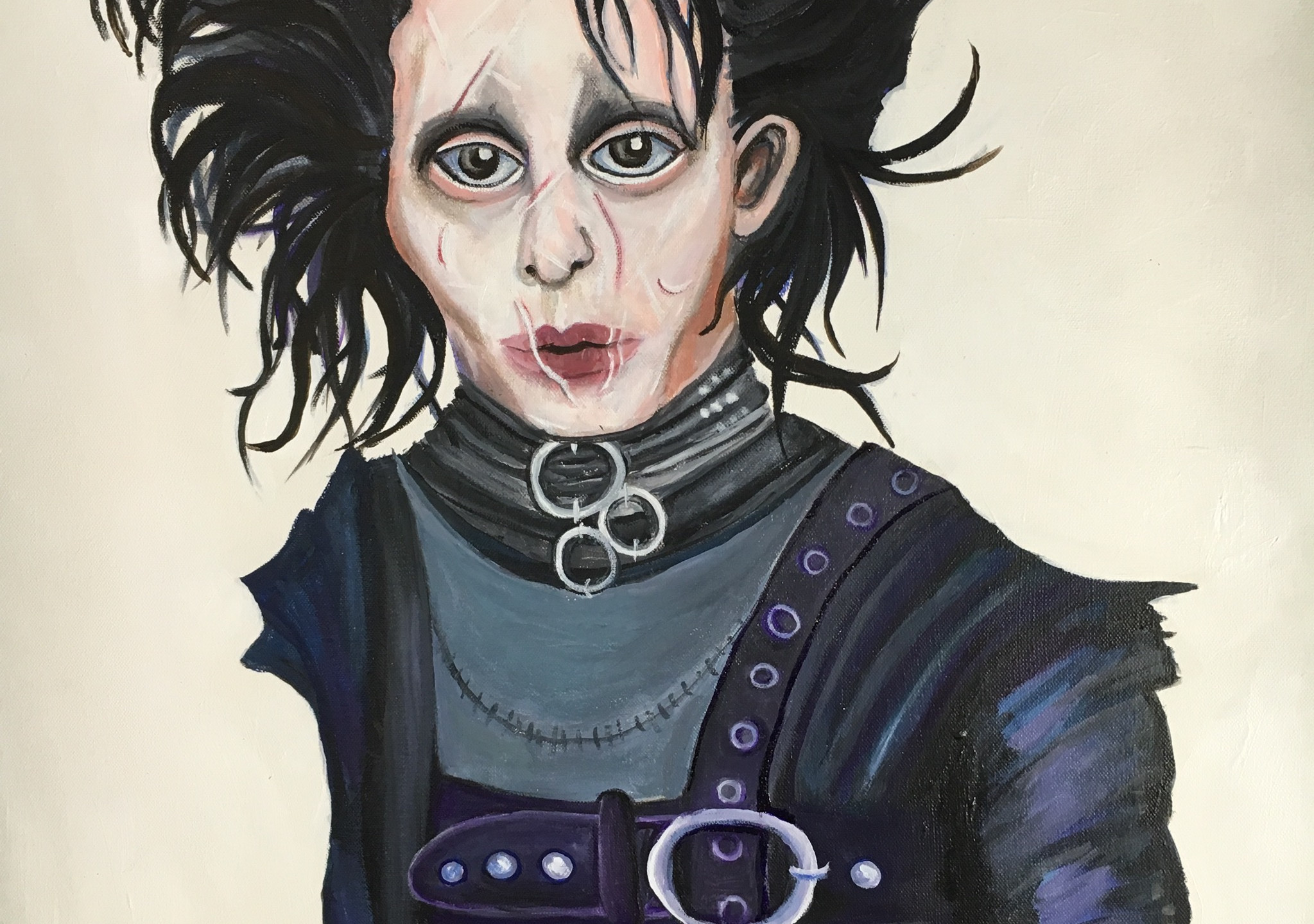 Edward Scissorhands Costume details