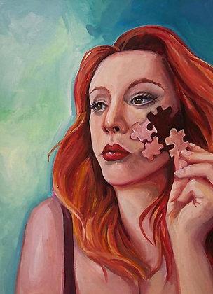 Puzzling Self Portrait