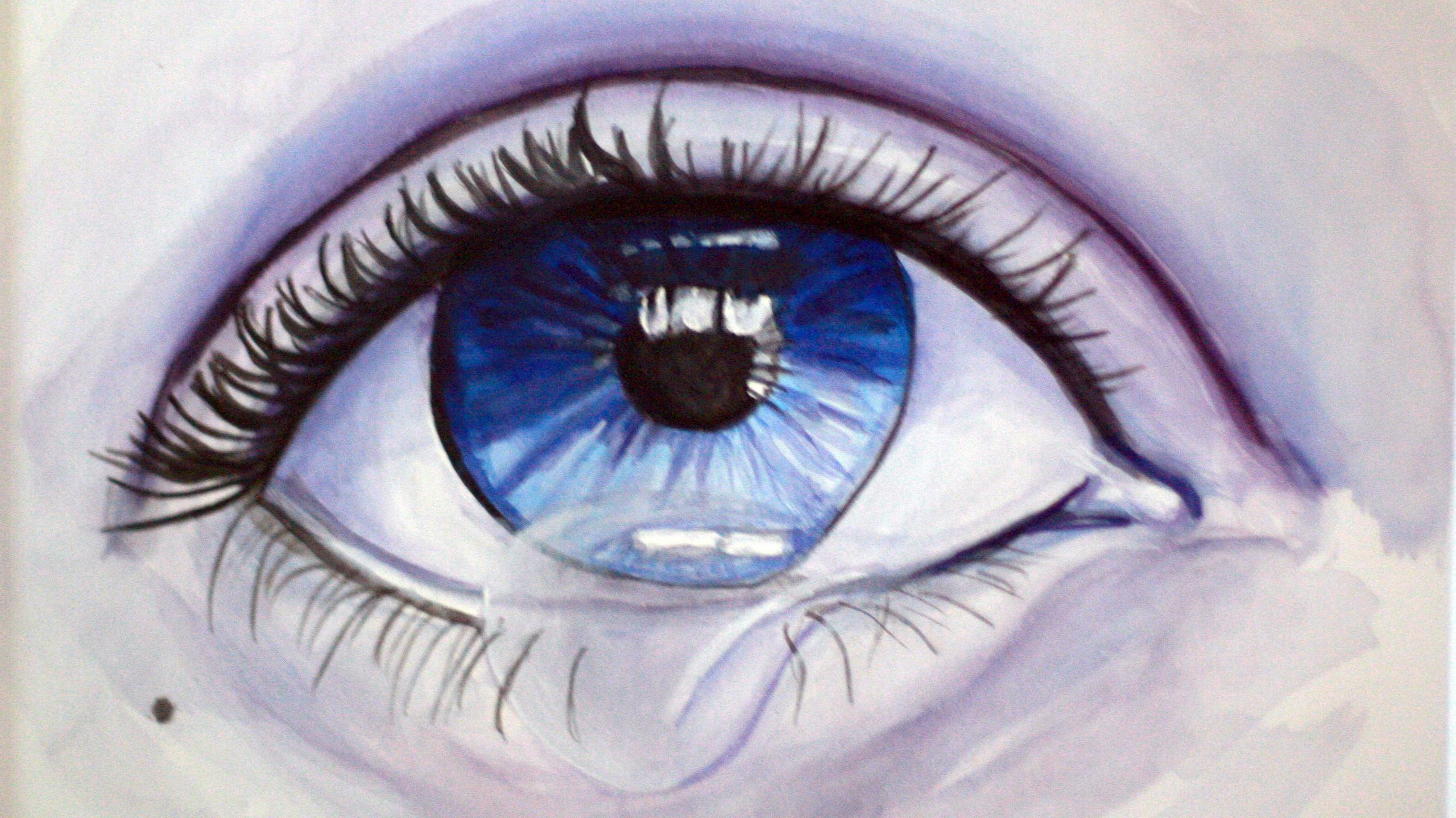 Blue Tears by Krissy Whiski
