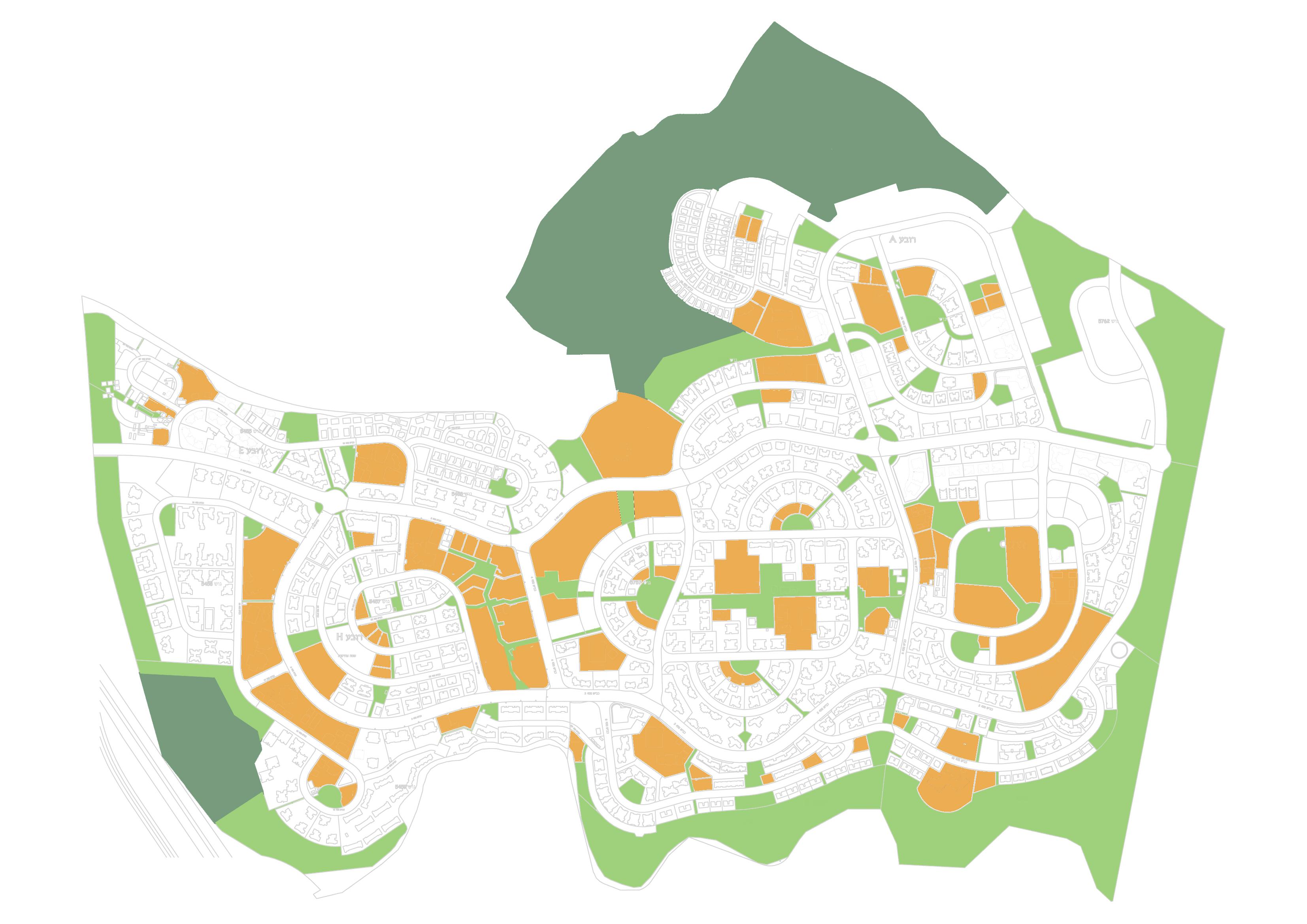 מערכת מבני ציבור ושטחים פתוחים