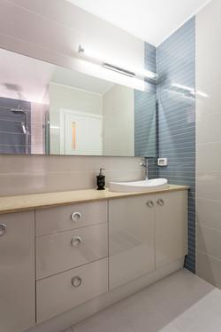 חדר רחצה , דירת 3 חדרים בתל-אביב