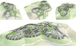 בית שמש  ד2  -  בינוי בטופוגרפיה