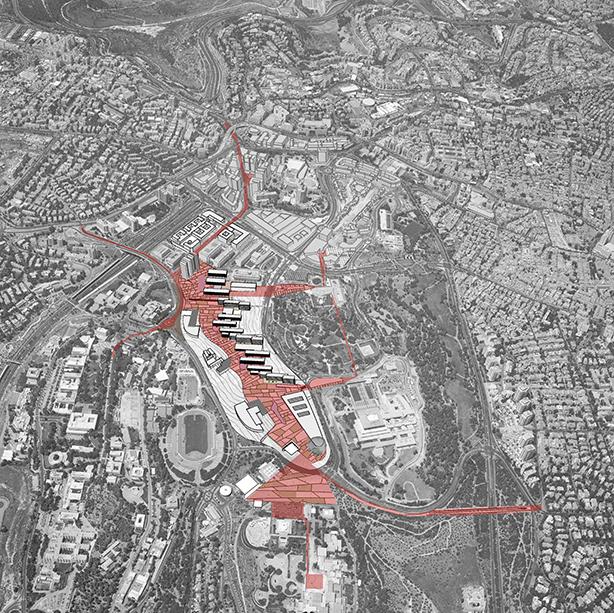 תכנית סביבה, קרית הממשלה ירושלים