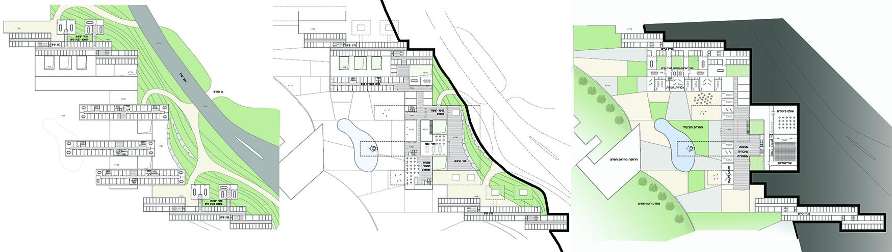 תכניות מבנים, קרית הממשלה ירושלים