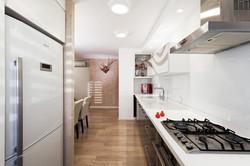 מטבח, דירת 3 חדרים בתל-אביב