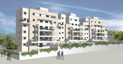 מבנה מגורים חדש בית-שמש