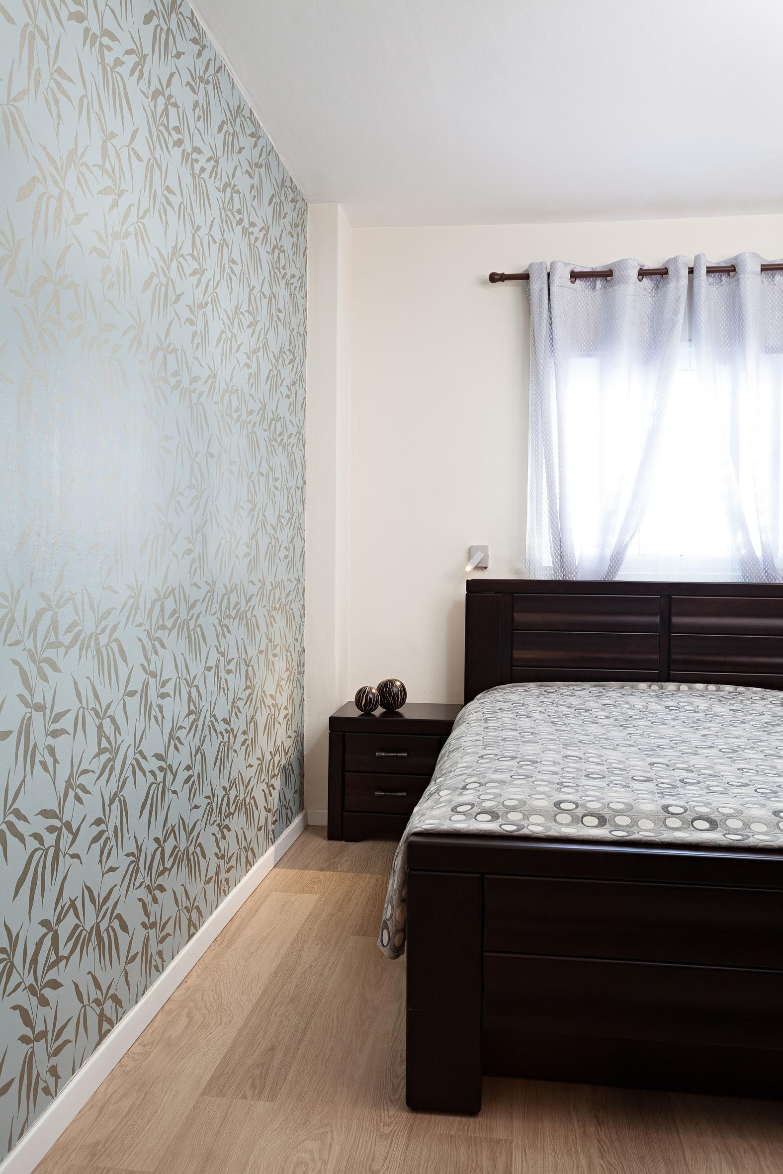 חדר שינה , דירת 3 חדרים בתל-אביב