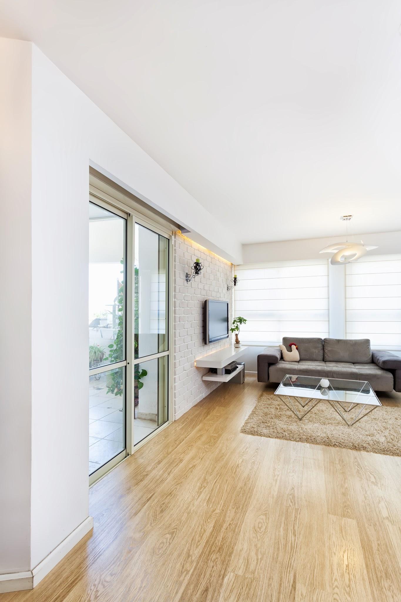 חדר מגורים  | מיני פנטהאוז אור יהודה
