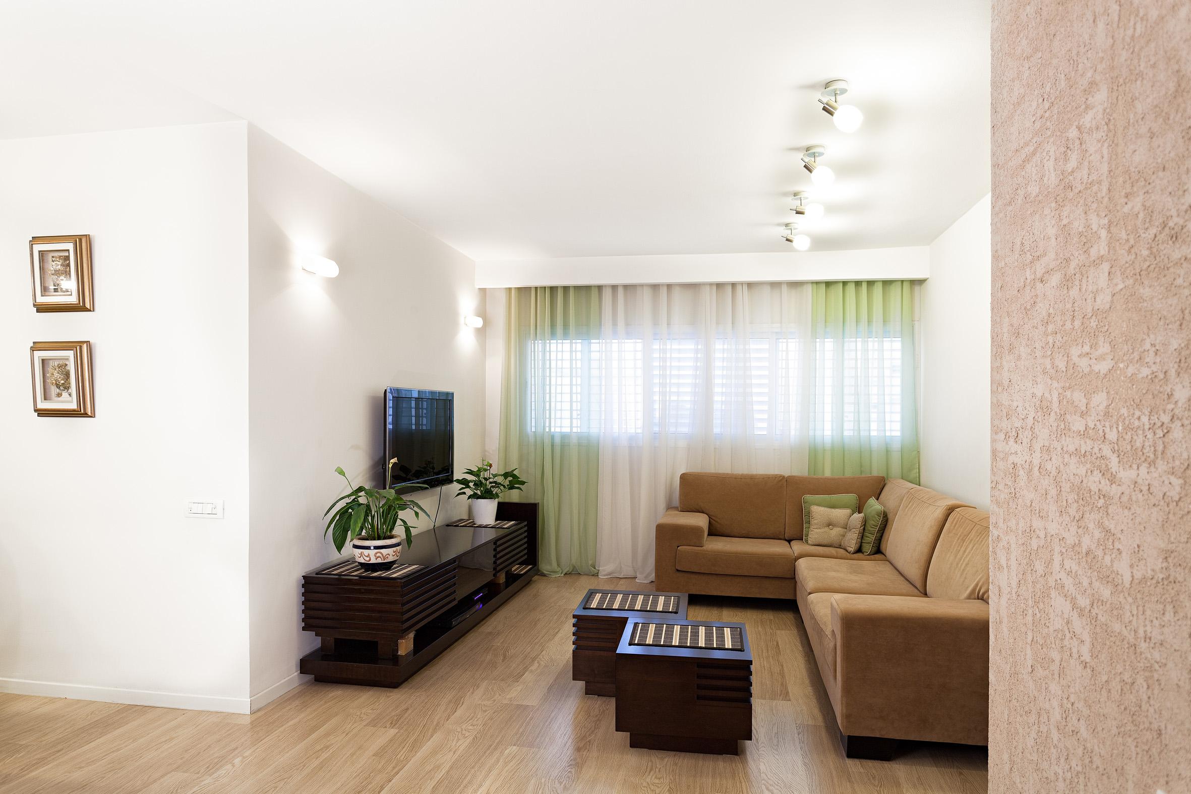 סלון, דירת 3 חדרים בתל-אביב