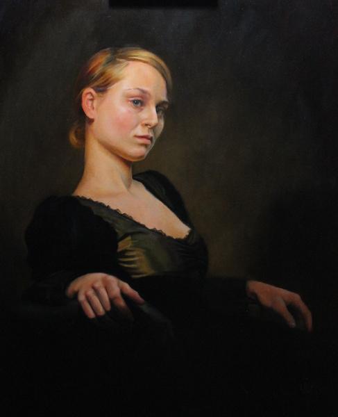 Olga 20x16 Oil on panel