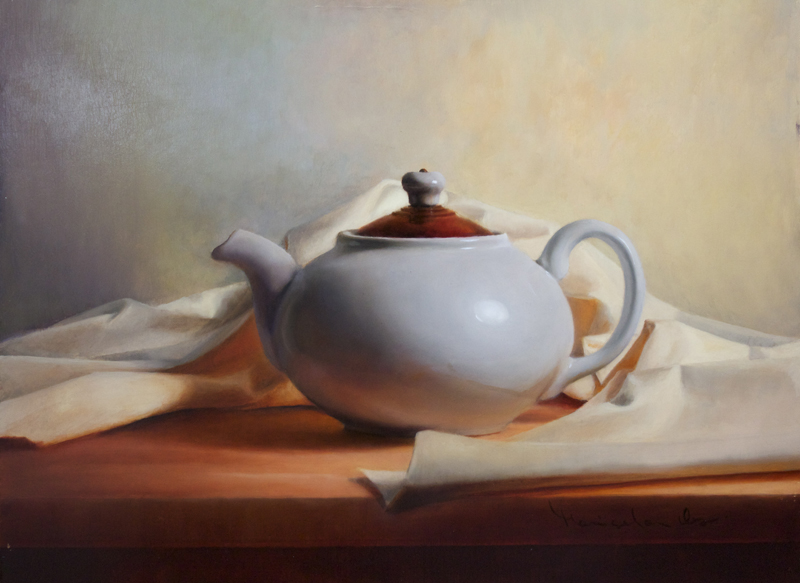 Morning Tea 12x16