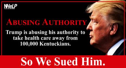 Kentuckians Sue Trump