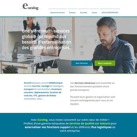 Un nouveau site web pour Euralog