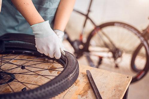 Remplacement d'un pneu
