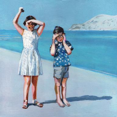 Children in the sun