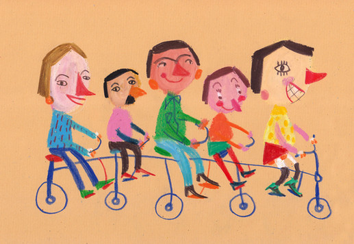 The bycicle riders