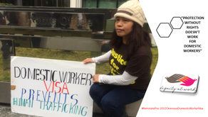 Violence against migrant women domestic workers, trends, impact of Covid-19 and solutions