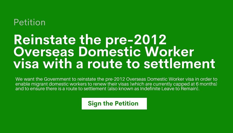 Pledge your Support for Migrant Domestic