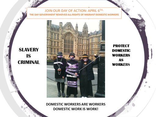 Day of Action to restore rights for migrant domestic workers