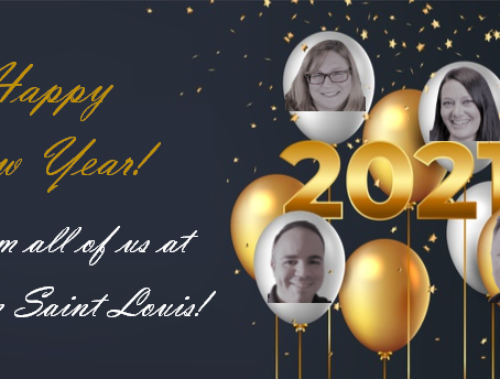 Happy New Year from Team Saint Louis!