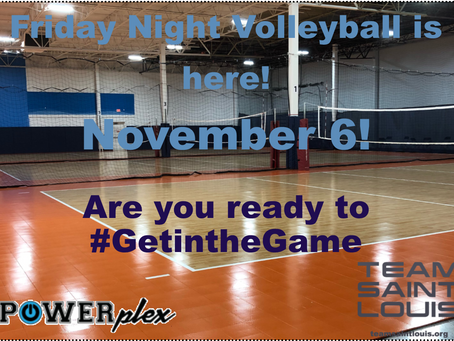 Indoor Volleyball is a Comin'! New Night! New Venue! New Way to Register!  #GetintheGame