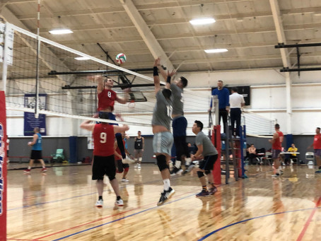 Tuesday Night Volleyball is Back!