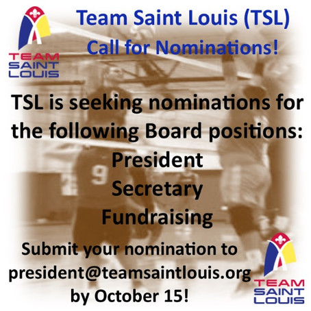 There's Still Time! Nominate for President, Secretary, Fundraising