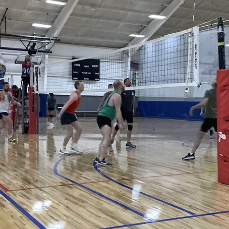 Session Four of Team Saint Louis Tuesday Night Volleyball Coming at You!