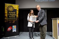 Winner at Natural & Organic Award
