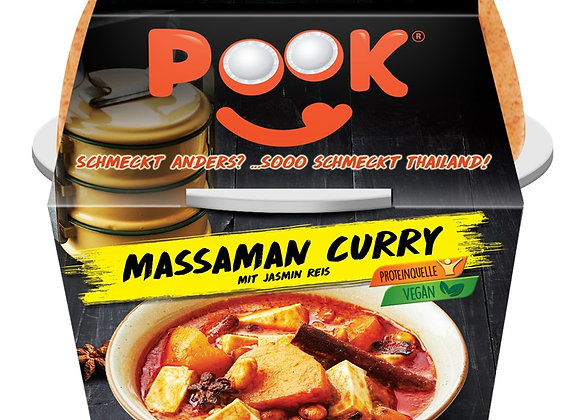 POOK Ready To Eat - Massaman Curry - 6x 250 g