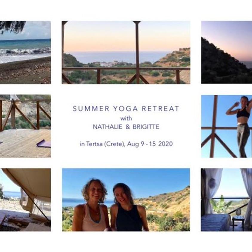 Summer Yoga Retreat with Nathalie & Brigitte