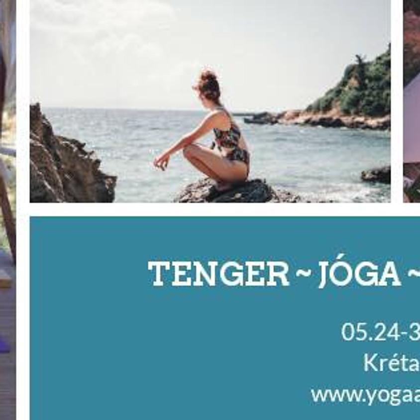 Tenger~jóga~megújulás Krétán
