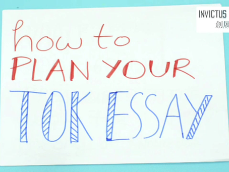 How to Plan your TOK Essay