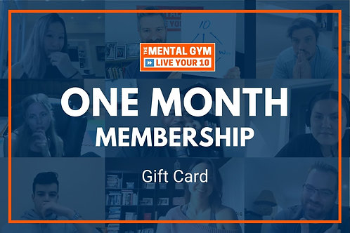 Gift Card - One Month Membership