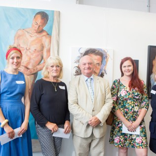 Winner of Lee and Thompson LLP Prize for Portraiture