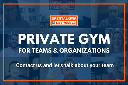 Private Gym for teams and organizations.