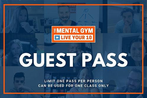 Mental Gym Guest Pass