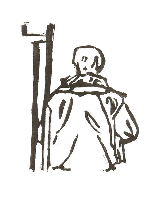 Figure on Tube V