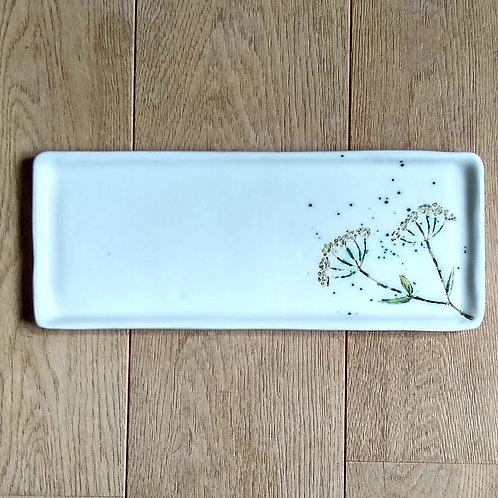 Fennel Seedhead  landscape platter