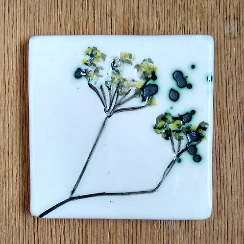 Fennel Imprint Coaster