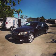Wash and Wax on Lexus
