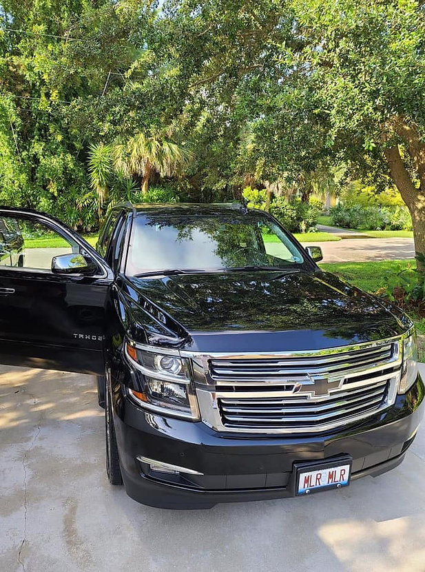 Ceramic Coating and Full Car Detail on this 2019 Chevy Tahoe, in Stuart, Florida