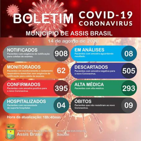 Boletim Covid-19 atualizado, 29 de setembro de 2020