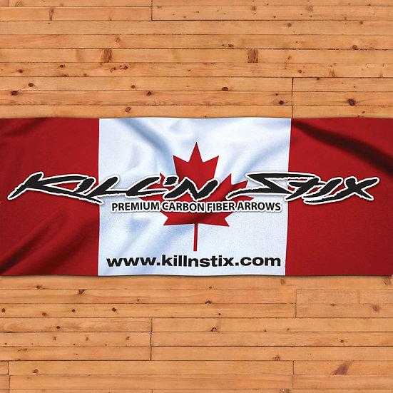 Kill'n Stix ™ Banner (Canada)